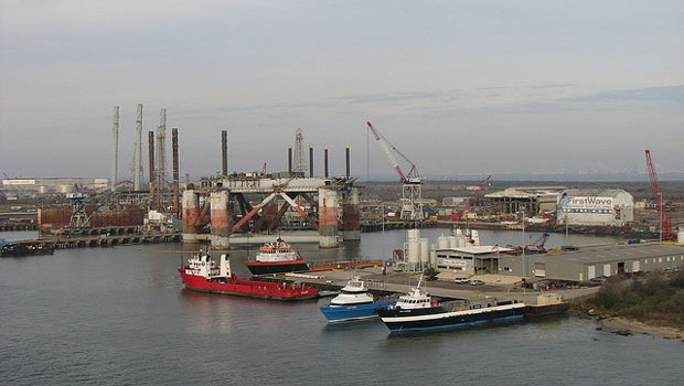 The Port of Galveston in Texas. Texas exported $10.1 billion worth of goods to China in 2012. (Photo by KM&G Morris via Flickr)