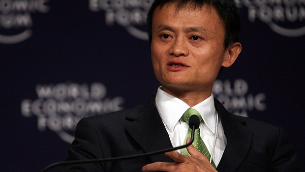 Alibaba Group Founder Jack Ma speaks at a World Economic Forum event in Tianjin in 2008. (Photo by World Economic Forum via Flickr)