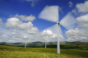 Spinning Wind Turbines