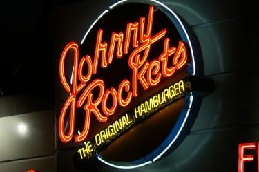 Neon Johnny Rockets sign