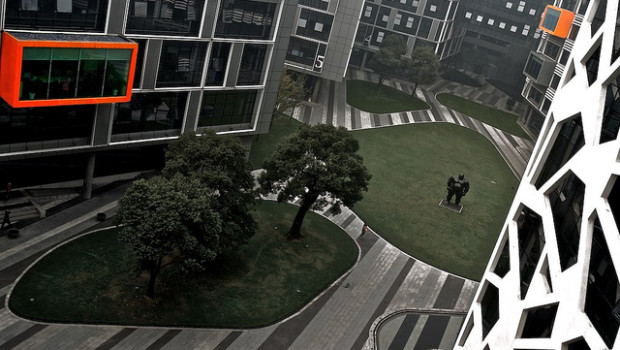 Photo by Le Zenits via Flickr // Alibaba headquarters in Hangzhou, China.