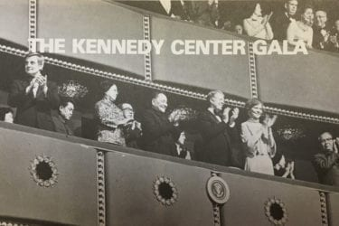 President Carter and Vice Premier Deng at the Performance of American Arts